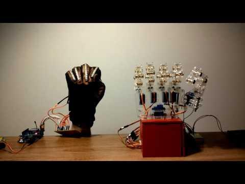Wireless Controlled Animatronic Hand (6 DoF)