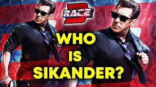 Salman Khan : Who Is Sikander? | Race 3 Cast Reveals Mystery
