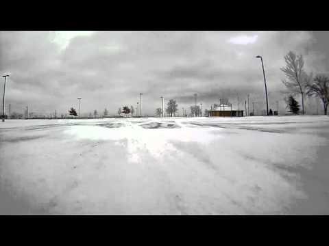 Snow Driving Fun 2 - Snow on Ice (90 Mitsubishi Eclipse GSX w/ bumper cam)