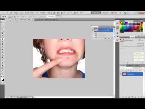 Photoshop CS5 Patch Tool - الدرس الخامس - 5