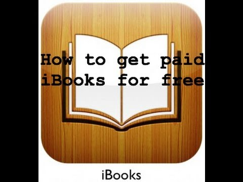 How to get paid iBooks for FREE! (NO JAILBREAK!!!)