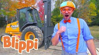 Trucks For Kids With Blippi | 1 Hour of Blippi Learning For Kids