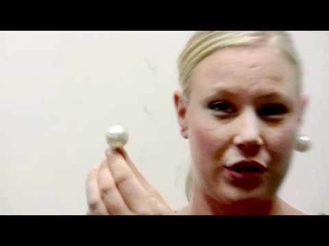 Evie's Jumbo Faux Pearl Clipon Earrings