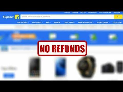 No more Refunds on Flipkart | Flipkarts new policy