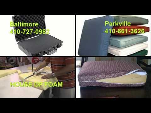 House of Foam | Custom Cut Foam Seat and Cushion Replacment | Foam Cushions