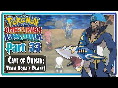 Pokemon Omega Ruby and Alpha Sapphire - Part 33: Cave of Origin   Team Aqua's Evil Plans!  (FaceCam)