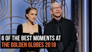 6 Of The Best Moments At The Golden Globes 2018