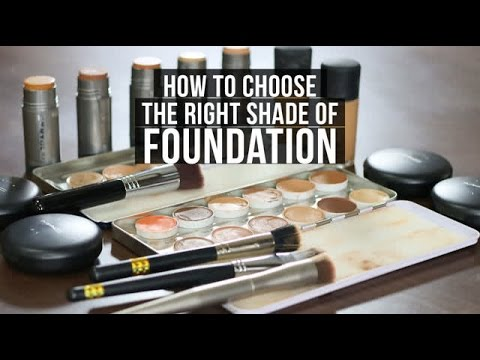 How to choose the right Shade of Foundation