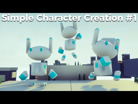 Simple Character Creation #1 - Modelling In Blender [Game Jam Tutorial]