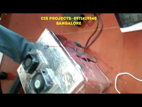 mechanical projects--thermoelectric refrigerator using peltier effect
