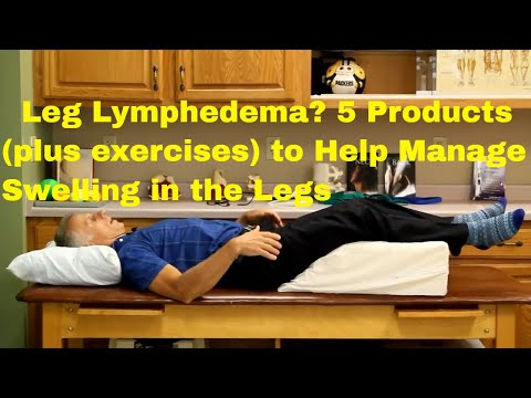 Leg Lymphedema? 5 Products + Exercises to Help You Manage Swelling in Your Legs.