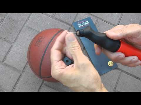 Dual-Action Ball Pump with Needle by Fitness Factor