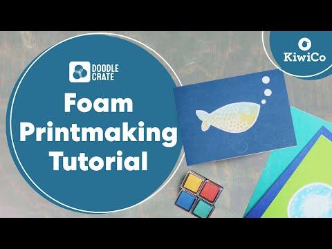 Foam Printmaking Tutorial