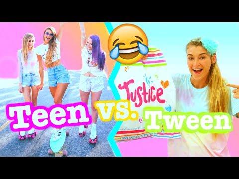 Tween VS Teen!!