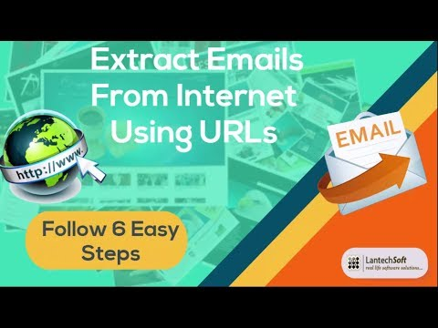 Extract Emails From Internet Using URLs  Follow 6 Easy Steps
