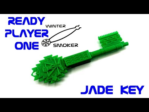 Ready Player One - Jade Key in Fusion 360