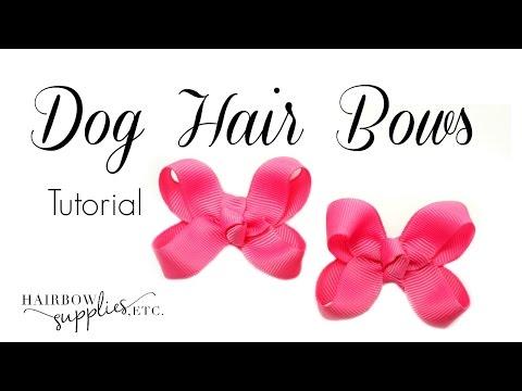 Dog Hair Bows Tutorial - Hairbow Supplies, Etc.