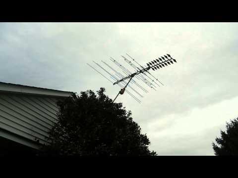 Old school TV antenna circa 1979