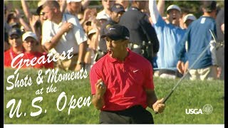 The U.S. Open - Greatest Shots & Moments of All Time