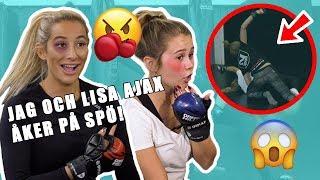 KÖR MMA MED LISA AJAX!!! - REPS AND Q´S AVSNITT 2