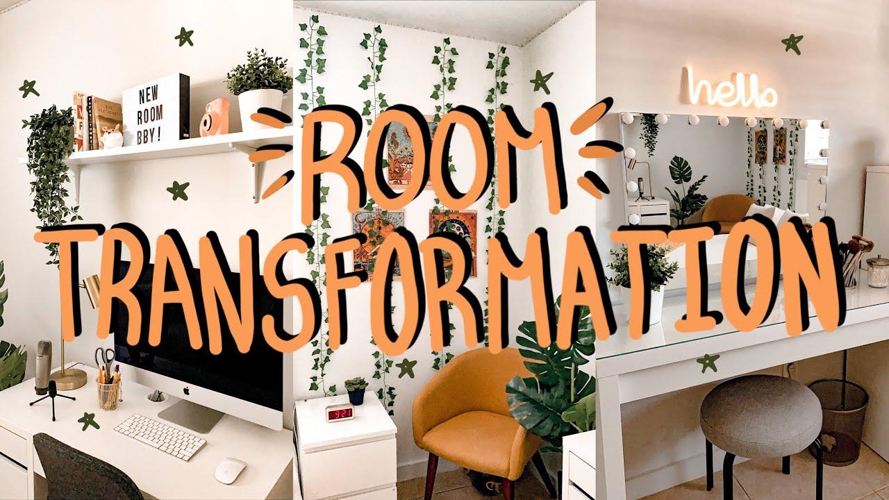 EXTREME ROOM MAKOVER + TRANSFORMATION *aesthetic, tiktok, pintrest inspired