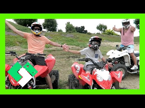 QUAD RIDING WITH DAILY BUMPS! (Day 1540) | Clintus.tv