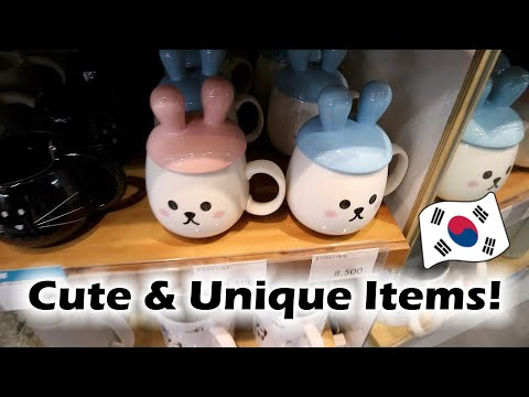 Home Decor Shopping in Seoul | Where To Buy Cute & Unique Items!