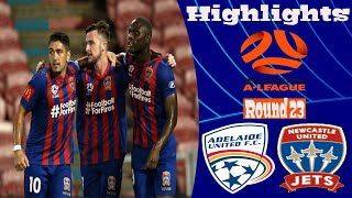 Adelaide United vs Newcastle Jets 0-3 Highlights All Goals Hyundai A-League 15.03.2020