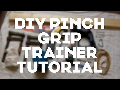 DIY Pinch Block Tutorial - Climbing Pinch Grip Trainer