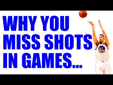 3 Secrets To MAKE Shots IN GAMES + 3 Basketball Shooting Drills!