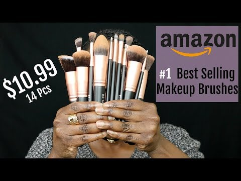 TESTING AMAZON'S #1 BEST SELLING MAKEUP BRUSHES