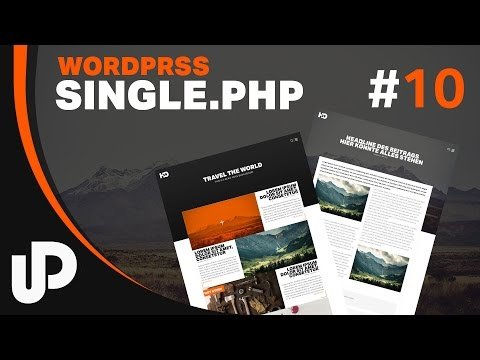 #10 Wordpress Single.php & Header in das dein Theme einbauen. [Tutorial ]