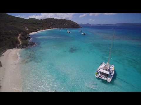 2017 Joyst Van Dyke, White Beach, BVI. The Best Drone Aerial Video just prior to the Cat 5 Hurricane