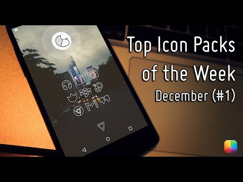 Top Android Icon Packs of the Week #1 - December