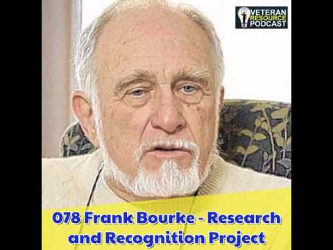 078 Frank Bourke - Research and Recognition Project