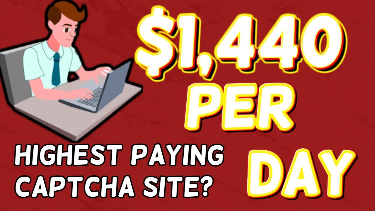 💰 Make $1440 per day with Captcha Typing|  Make $60 per Hour every Hour 💰