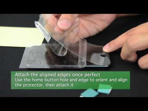 iPhone 5 Screen Protector Installation Tutorial