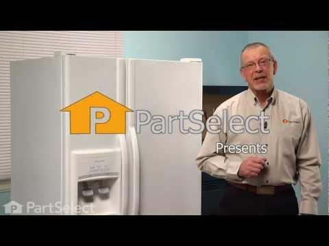 Refrigerator Repair - Replacing the Water Filter Cap (Whirlpool Part # 2186494B)