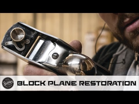 How To Restore A Stanley Block Plane