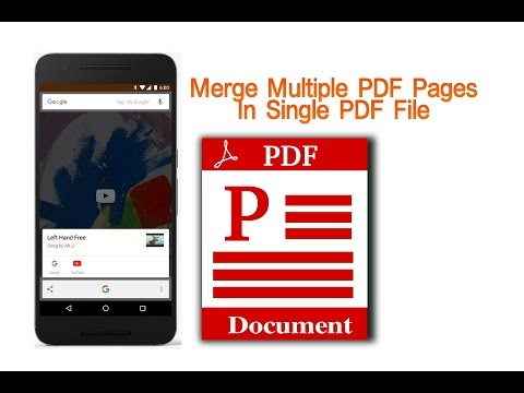 How To Merge PDF Files Into One In Mobile
