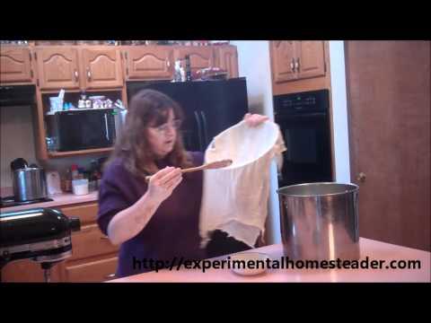 Homemade Cheese Recipe - Sheri Ann Richerson  ExperimentalHomesteader.com