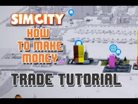 SimCity ★ How to make money ★ Trade Tutorial