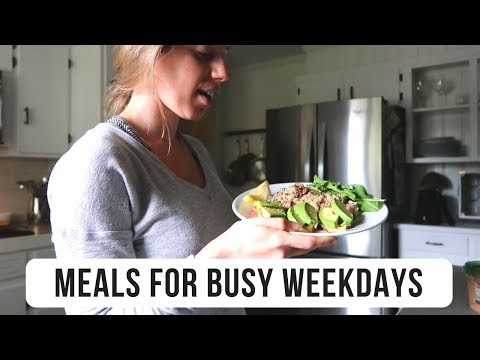 EASY WEEKDAY MEALS (Realistic & Vegan)