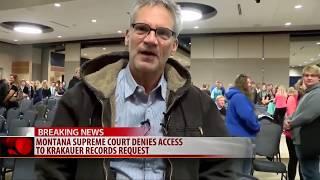 Montana Supreme Court Denies Krakauer Access To Education Records