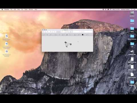 Make the background of an image transparent in under two minutes on a Mac