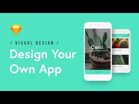 Design Your Own App in Sketch (Tutorial)📱