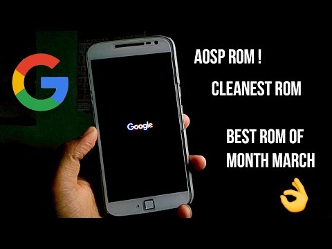 AOSP Extended ! | MOTO G4/G4 PLUS | HOW TO INSTALL | OVERVIEW & FEAUTRES |