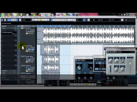 How to make harmony voice 2014 on cubase