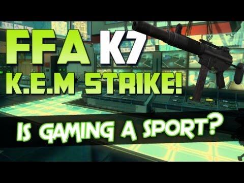 Is Gaming a Sport? - COD GHOSTS FFA K.E.M Strike w/K7!