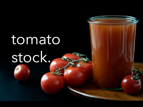 Tomato Stock in the Instant Pot
